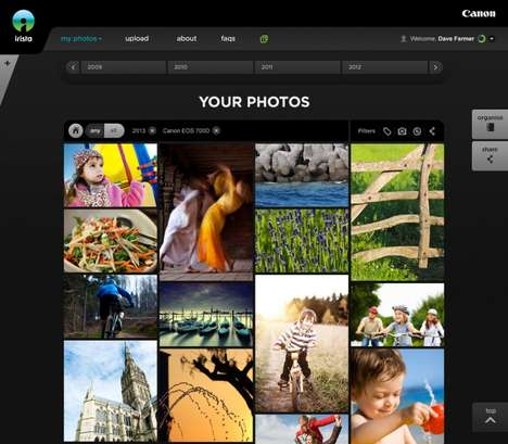 Photo-Centric Cloud Storage - Canon