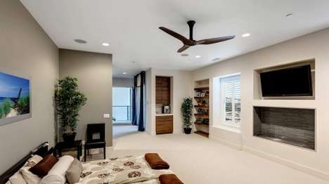 Ingenious Ceiling Fans - The Haiku Smart Fan Regulates Temperature Based on Personal Preferences