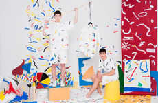 Colorful Art Attack Lookbooks