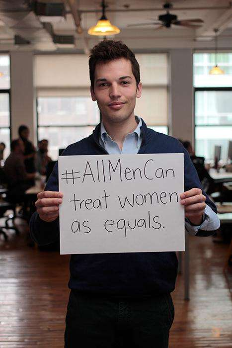 Male Feminists Hashtags - All Men Can is Spawned From a Popular and Empowering Social Media Campaign