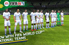 Fantasy World Cup Apps - The FIFA 14 by EA Sports App Lets You Build a World Cup Fantasy Team