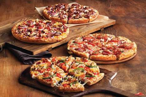 Diversity-Celebrating Pizzas - Pizza Hut Canada Has Four New Pizzas That Honor Multiculturalism