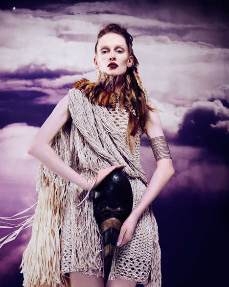 Futuristically Exotic Editorials - The Madame Germany