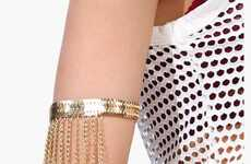 Opulent Gypsy Accessories - Necessary Clothing's It Takes Two Arm Band Celebrates Ornate Styling