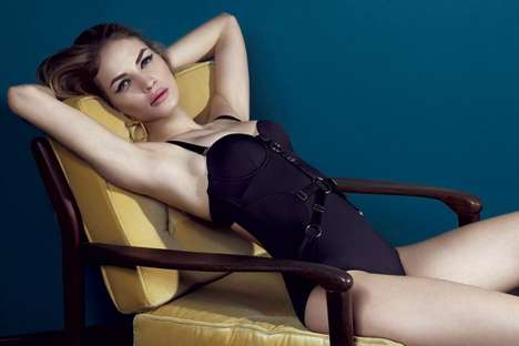 Sinfully Sizzling Swimwear - The New Bordelle Swimwear Collection is Seductive and Vibrant