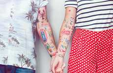 Eclectic Temporary Tattoos
