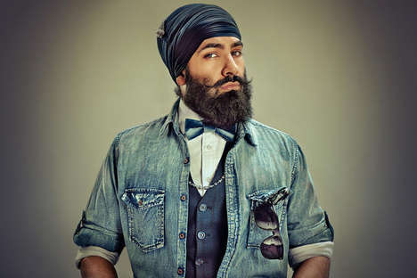 Celebratory Sikh Picture Series - The SINGH Project Uses Turban Photography to Honor Sikh Men