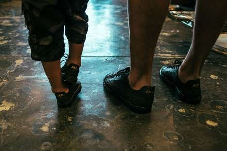 Matching Dad-Son Footwear - The Akid Father