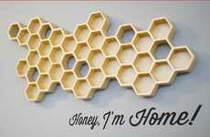 Honeycomb Key Holders