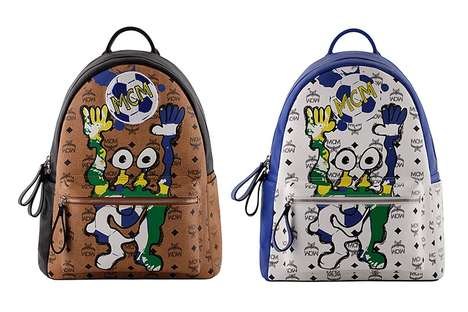Soccer Tournament Accessories - The MCM World Cup Collection Celebrates the Upcoming Championship
