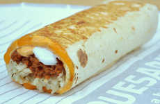 Tantalizing Taco Burritos - The Taco Bell Quesarito is a Burrito Wrapped Up in a Soft Quesadilla
