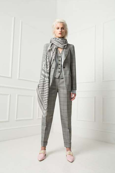 Contemporarily Tailored Fashion - The Temperley London Resort 2015 Collection Merges Two Lines