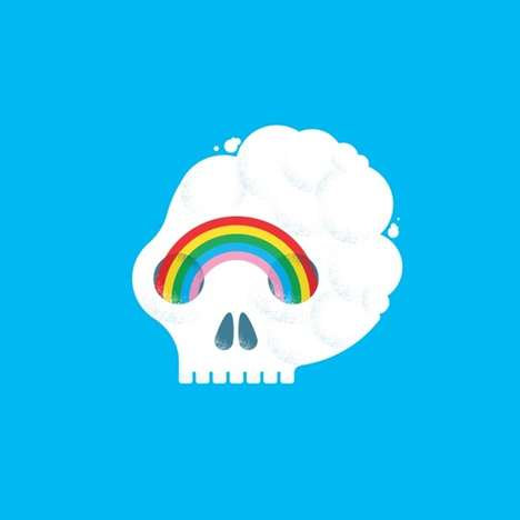 Conceptual Skull Illustrations -