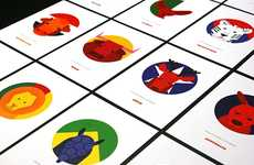 Animalistic World Cup Cards