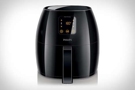 Healthy Hi-Tech Fryers - The Philips Digital AirFryer Doesn't Require Oil to Fry Foods