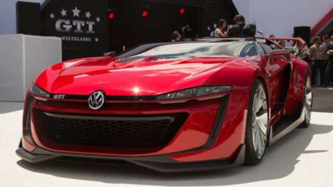 Real-World Gaming Cars - The Volkswagen Vision Gran Turismo Was Developed for a Video Game