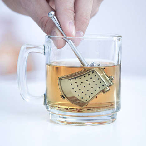 Mythical Hatchet Infusers - Make a Nice Cup of Tea with the Fabled Axe Tea Infuser