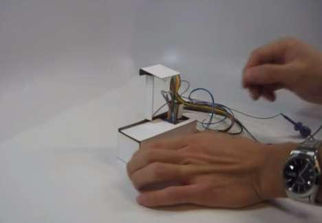 Self-Assembling Lamps - Researchers at the Wyss Institute of Harvard Develop a 3D Illuminator