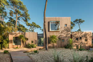 This Cabin Beach House is Stunning and Private