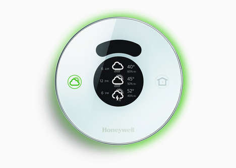 Smart Connected Thermostats - The Honeywell Lyric Device Detects when Users Return Home