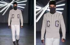 Remixed Collegiate Runways - The Claudia Garrido Spring/Summer Collection is Sporty