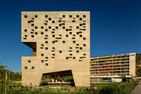 Chilean Desert Structures - This Unique Campus Design is Inspired by Its Natural Surroundings