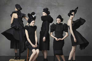 This Swedish Fashion Timeline is Conceptual and Stunning