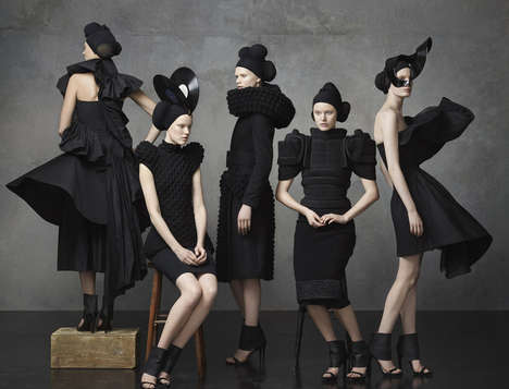 Iconic Swedish Fashion Series - This Swedish Fashion Timeline is Conceptual and Stunning