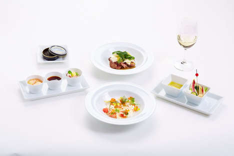 Fine Parisian Airline Meals - Japan Airlines Has Special In-Flight Meals Prepared by Parisian Chefs