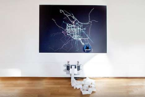 Cyclist-Tracking Robots - Radwende by Scholz & Volkmer Maps Out Need for Bike Routes