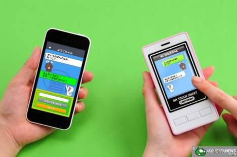 Kid-Specific Smartphones - My Touch Smart Line Friends Phones for Kids Keep Youth Safe & Connected