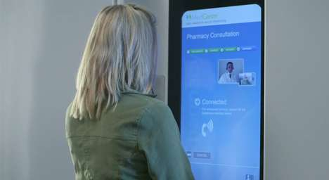 Telepresence Pharmacy Kiosks - HealthSpot Stations Make Dispensing Prescriptions More Accessible