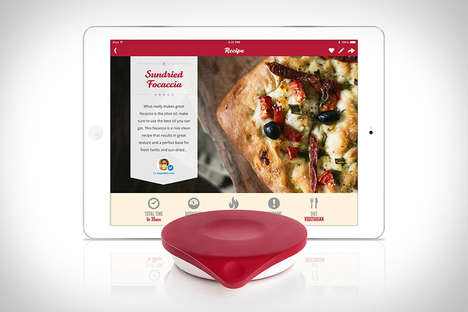Tablet Kitchen Scales - The Drop Smart Scale Helps You Perfectly Measure Out Your Baking Ingredients