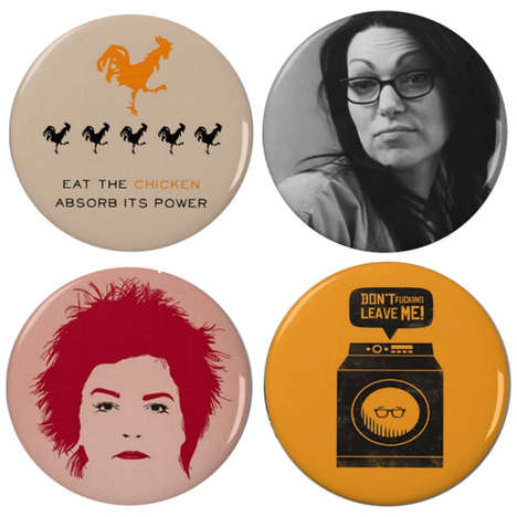 Cinematic Prisoner Pins - These Retro Pins Commemorate Orange is the New Black Season Two