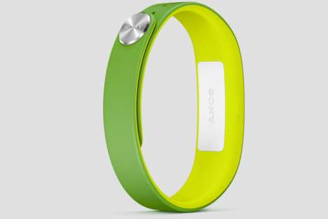 Life-Logging Accessories - The SONY SmartBand SWR10 is Nifty and Beautifully Designed
