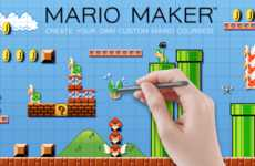 Customizable Platformer Games - Nintendo's Mario Maker Will Let You Build Your Own Levels