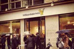 A Pop-Up Shop in Paris Opened to Promote Pokemon X and Y