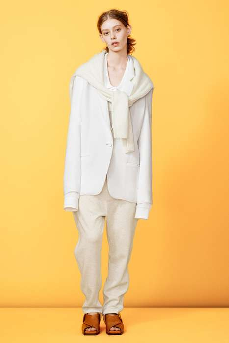 Lovely Layered Lookbooks - The Acne Studios Resort 2015 Editorial Features Layered Garments