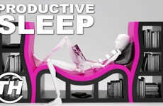 Productive Sleep - Trend Hunter's Courtney Scharf Talks About Sleeping At Work More Frequently