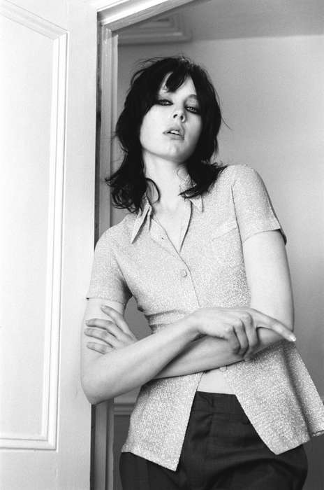Vintage Rocker Editorials - Edie Campbell