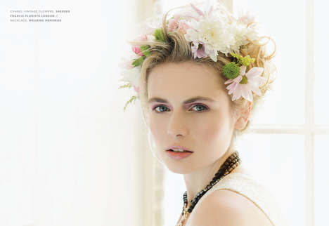 Striking English Rose Editorials - Kenton Magazine