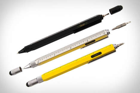 Multi-Tool Styluses - The Monteverde One Touch Stylus Tool Pen is Digital and Analog
