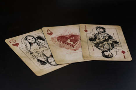 Vintage Fantasy Decks - This Game of Thrones Card Set is Ideal for Fans of the Show