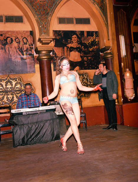 Cairo Cabaret Photography - This Cabaret Photo Series is Candid and Fascinating