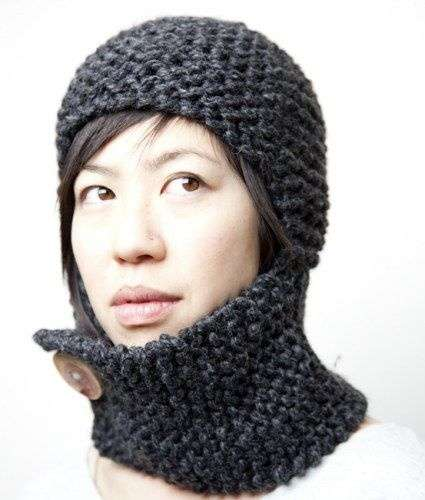 Wooly Medieval Accessories - The Knit Armor Collection by  KNITTLES is Ready to Combat Winter