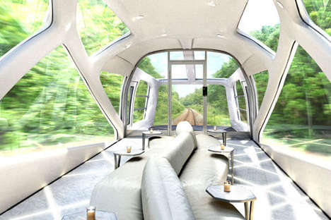 Luxury Cruise Trains - JR East Trains Has Commissioned Ken Okuyama to Design Its Latest Cars