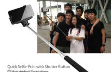 Self-Portrait Phone Extenders - Quick Selfie Pole Allows People to Take Better Photos of Themselves