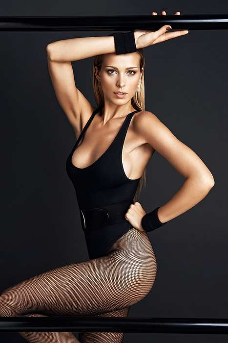 Sizzlingly Sporty Editorials - Petra Nemcova Stuns in the GQ Portugal May 2014 Cover Story Shoot