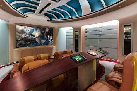 Luxuriously Geeky Homes - The Boca Raton Mansion is Full of Sci-Fi and Video Game References