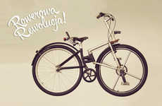 Chainless Foldable Bicycles